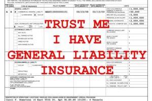 General Liability Insurance Dallas